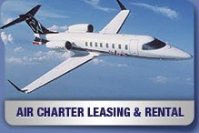 Air Charter Rental LEasing Services Commercial
